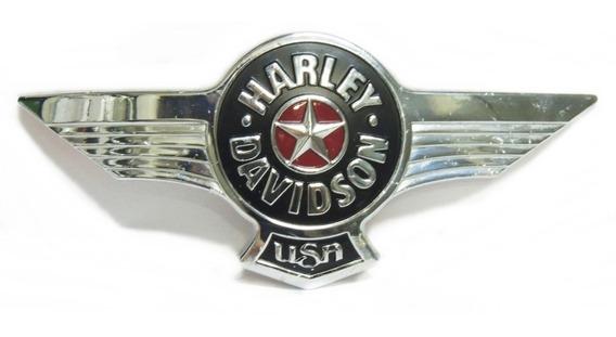 Emblema Adesivo Esquerdo Tanque Harley Davidson