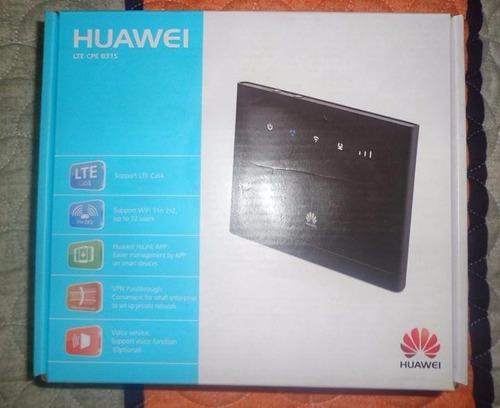 Router Huawei B315s 4g Libre Bitel Movistar Claro Entel