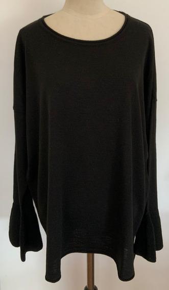 Venga Madre. Sweater Amplio Negro. Talle 2