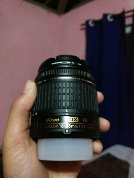 Lente Nikon 18-55mm + Filtro Uv