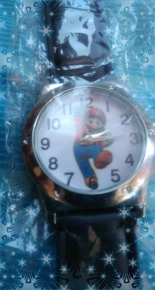 Reloj Mario Bros, Llavero De Regalo