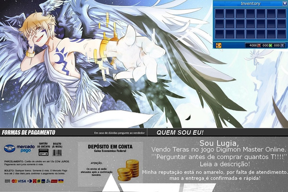Digimon Master Online - Teras Lucemon 0,23r$ = 1t