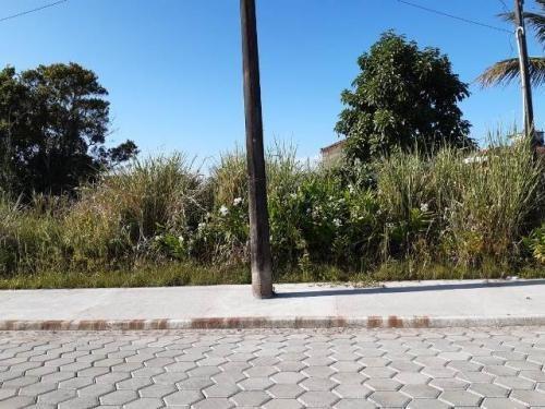 Terreno Em Bairro Com Calçamento, Itanhaém Litoral De Sp