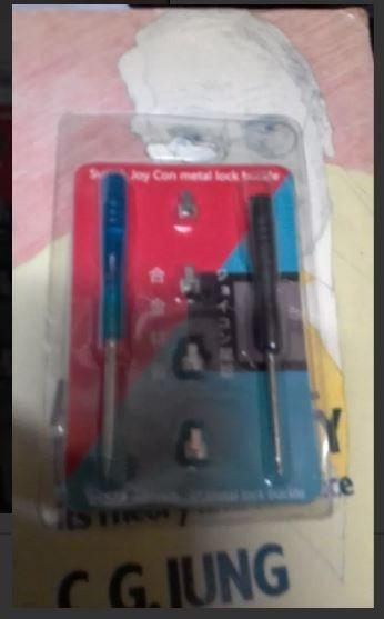 Kit Ferramenta Joy Nintendo Switch Botao