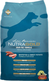 Nutra Gold Grain Free Whitefish 13,6kg - Revise Envío Gratis