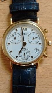 Reloj Tissot De Oro Clásico, Caja Redonda