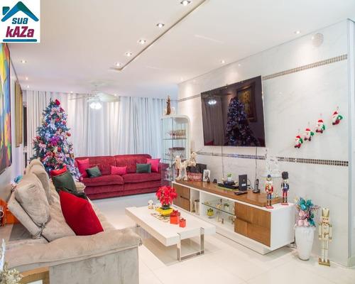 Apartamento De Cinema No Condomínio Villa Verde - Jardim Do Mar - Sbc - Ap00570 - 68720195