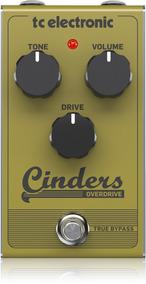 Pedal Guitarra Tc Electronic Cinders Overdrive