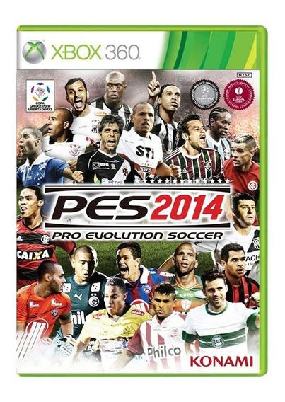 Pro Evolution Soccer 2014 - Pes 14 - Xbox 360