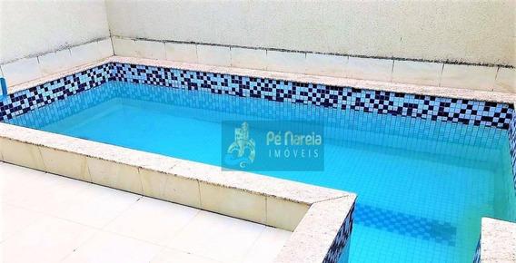 Sobrado Com 4 Dormitórios À Venda Por R$ 1.350 - Canto Do Forte - Praia Grande/sp - So0027
