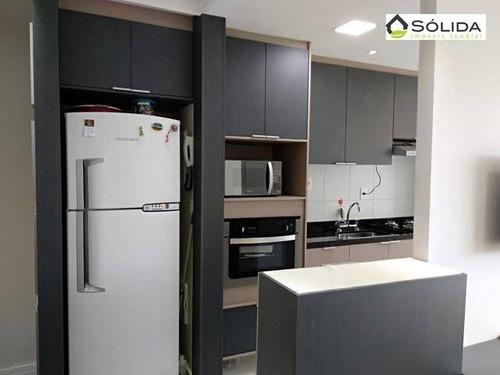 Excelente Apartamento A Venda No Condominio Bellart Em Jundiai Sp. - Ap1126