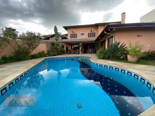 Casa Com 3 Dormitórios À Venda, 412 M² Por R$ 2.400.000,00 - Condomínio Residencial Barão Do Café - Campinas/sp - Ca2425
