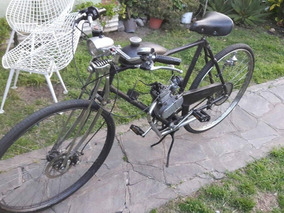 Bici Moto 50cc Estilo Vintage. Permuto