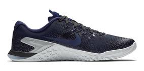 Tênis Nike Metcon 4 Crossfit Training Blue Graphic