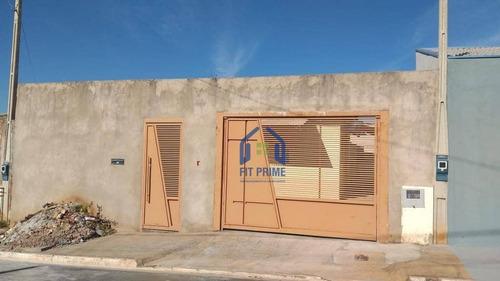 Casa Com 4 Dormitórios À Venda, 60 M² Por R$ 170.000 - Parque Residencial Da Fraternidade - São José Do Rio Preto/sp - Ca2430
