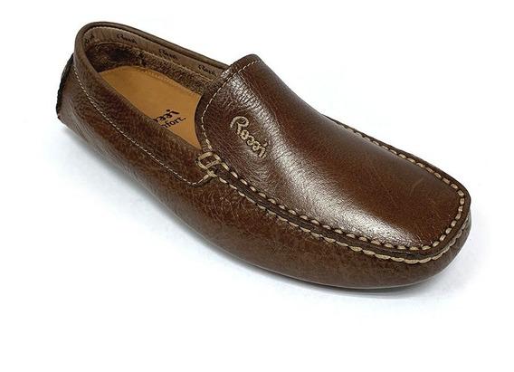 Zapatos Mocasines Rossi Caballero Marrón Ro 0609 Corpez 77