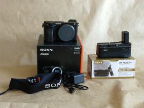 Sony Alpha 6300 - Corpo + Grip - Filma 4k