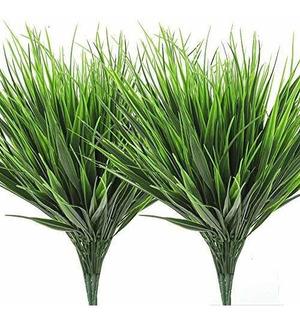Ageomet 14pcs Planta Artificial Planta De Plã¡stico Verde