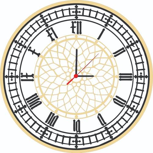 Reloj Moderno Para Sala, Comedor O Habitación En Mdf