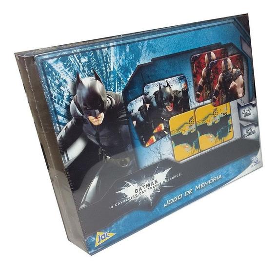 Jogo Da Memória Batman O Cavaleiro Das Trevas 54 Peças