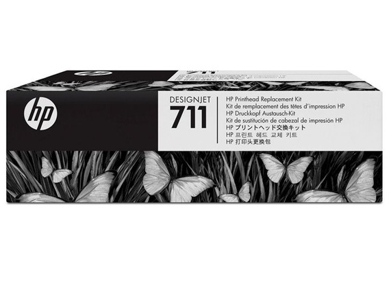 Cabeca Impressao Plotter C1q10a Hp 711 Kit Unico T120/t520