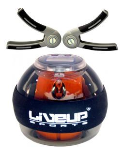 Giroscópio Power Ball Digital Com Hand Grips Par Liveup