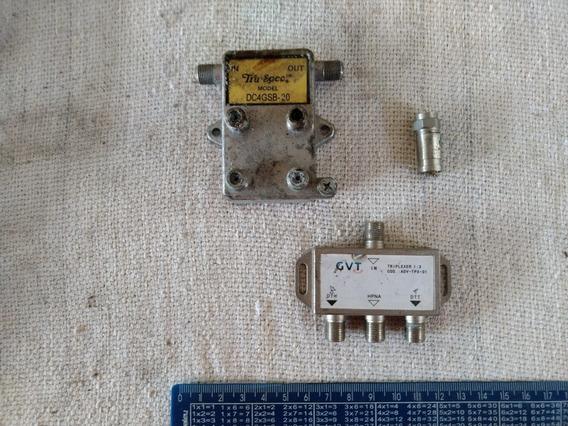 Divisor Tru Spec Dc4gsb-20 Avdtpx01 Antena Uhf Vhf Tv C 3553
