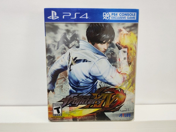 The King Of Fighters Xiv Steelbook Ps4