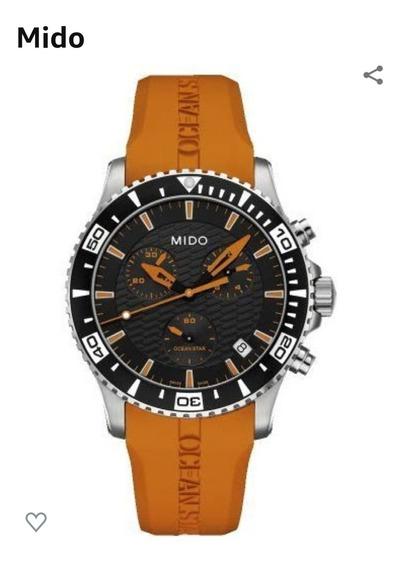 Reloj Mido, Captain Iv, Ocean Star Naranja