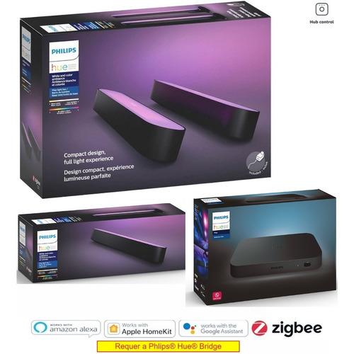 Philips Hue Play Bar + Light Bar Sem Fonte + Hdmi Sync Box