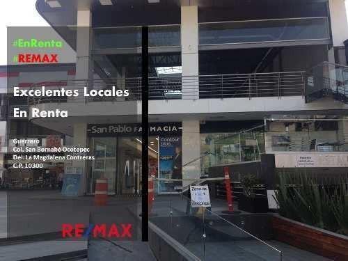 San Bernabe Ocotepec, Locales En Renta
