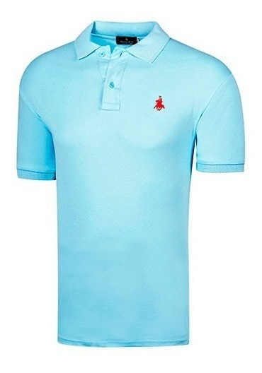 Playera Casual Caballero Polo Club 102 Azul 82335 T3