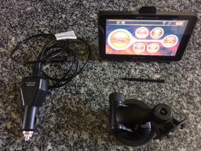 Gps Automotivo Multilaser Tracker,5 Pol. Tv Digital,fm!