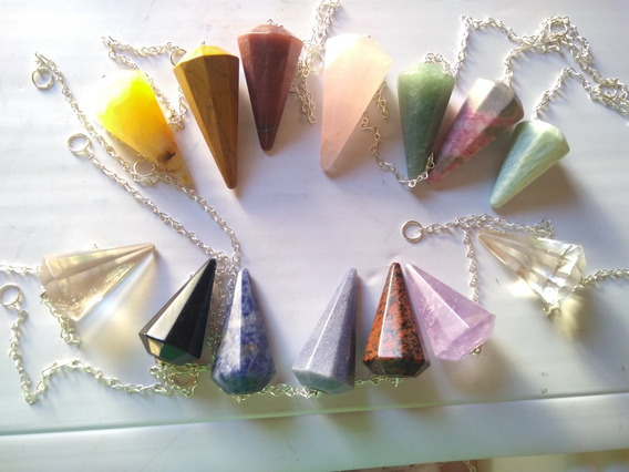 Pêndulos Radiestesia Cristal Ametista 10 Pecas
