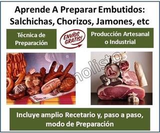 Curso Manual Embutidos Charcutería Chorizo Salchicha Carnes