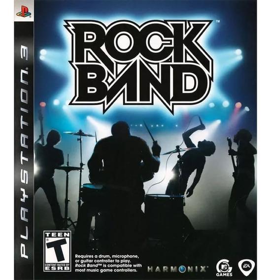 Rock Band - Ps3 - Original   Relacre