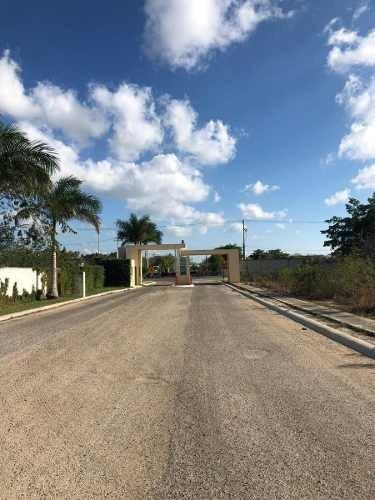 Se Vende Terreno Residencial Privada Laureles En Temozon