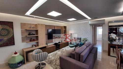 Imagem 1 de 27 de Apartamento Com 3 Dormitórios À Venda, 118 M² Por R$ 970.000,00 - Edifício Residencial Panorama - Itatiba/sp - Ap0597