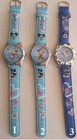Relógio Da Disney Mickey Mouse Criança Adolescentes-promoção
