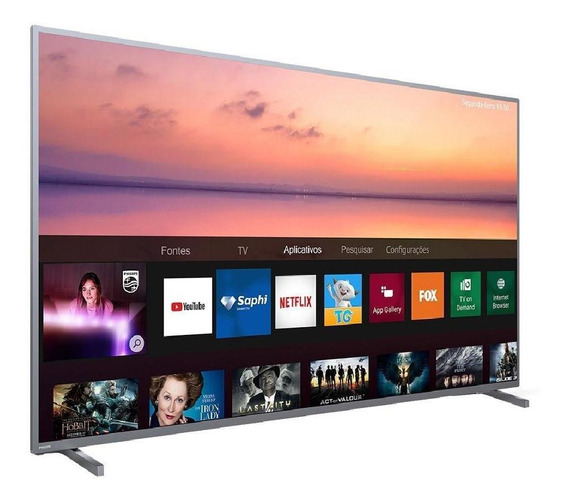 Smart Tv Led Uhd 4k 70 Philips, Wi-fi Integrado, Usb, Hdmi