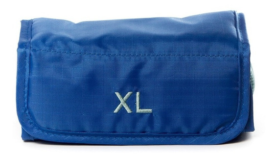 Portacosmeticos Rectangular Xl Extra Large Sunshine Azul