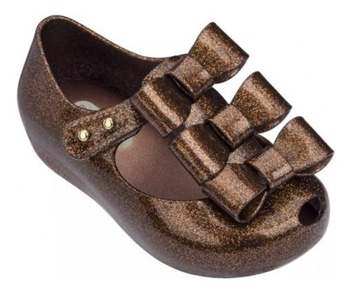 Mini Melissa 3 Laços Ultragirl Triple Bow Original