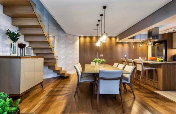 Apartamento Alto Padrão Com 04 Suítes, No Brooklin, Entre A A Marginal Pinheiros E Berrini - Sf28473