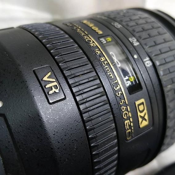 Lente Nikon Af-s Dx 16-85mm Com Vr