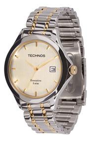 Relógio Technos Masculino Classic Executive 1s13bb/5k Prata