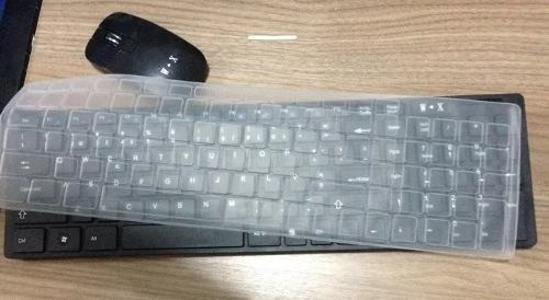 Teclado + Mouse Wireles Macbook Pc Tablet Com Saida Usb