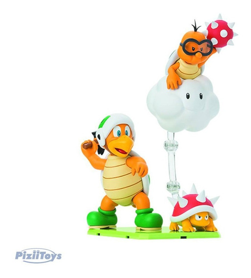 Bandai Play Set E Super Mario Bros S.h Figuarts Original