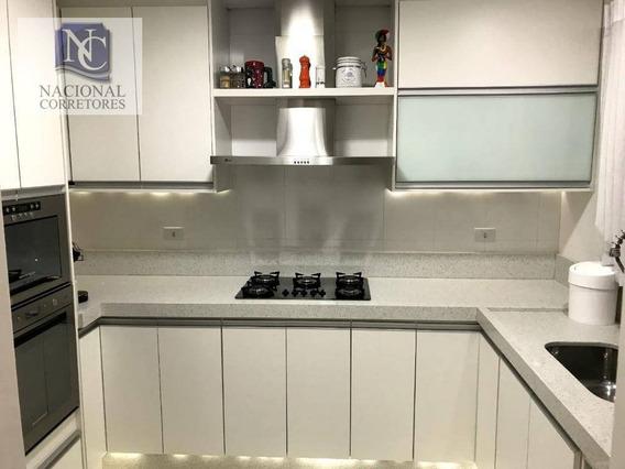 Cobertura Com 3 Dormitórios À Venda, 156 M² Por R$ 530.000,00 - Vila Metalúrgica - Santo André/sp - Co4879