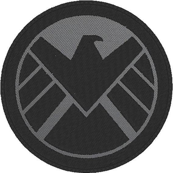 Parche Marvel Shield 100% Bordado 10cm Coser/planchar