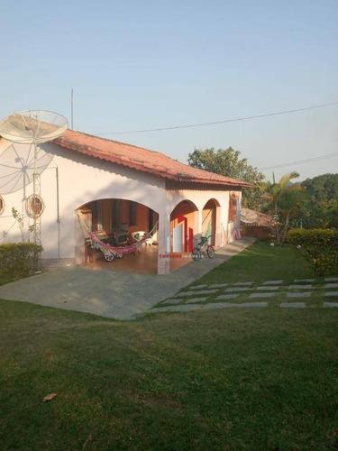 Chácara Com 2 Dormitórios À Venda, 2080 M² Por R$ 420.000,00 - Mairinque  - Mairinque/sp - Ch0015